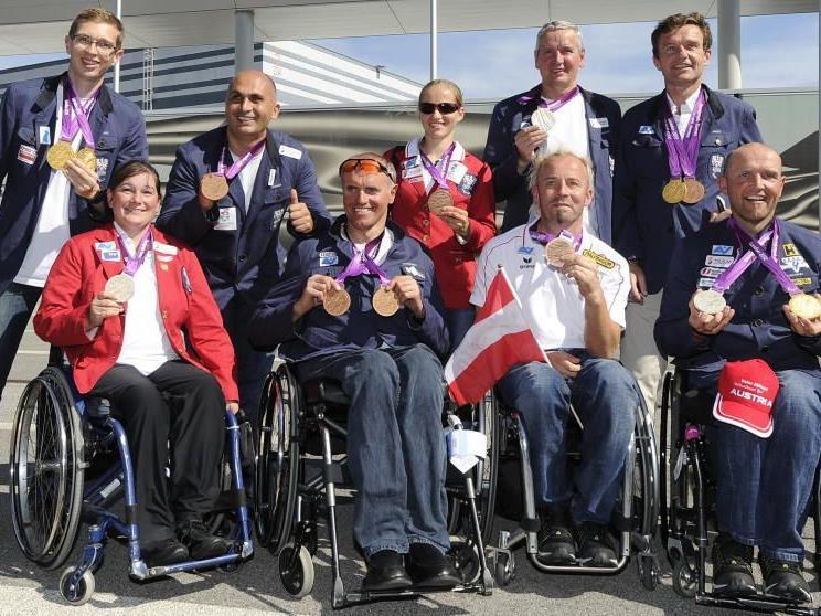 Das österreichische Team zeigte sich bei den Paraolympics sehr erfolgreich.