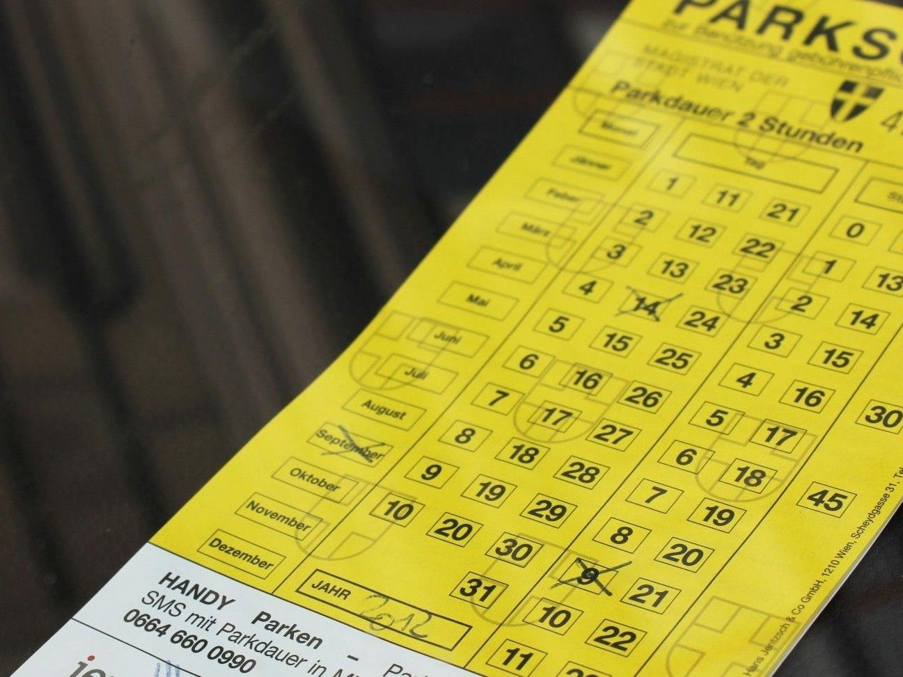 Parkpickerl: Am ersten Straftag wurden hunderte Strafzettel ausgestellt.