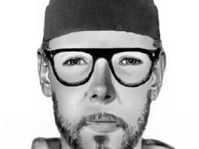 Der gesuchte Mann ist um die 30 Jahre alt.