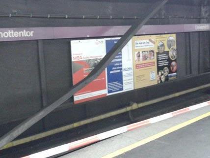 Derzeit fährt die Linie U2 nicht alle Stationen auf der Strecke an.