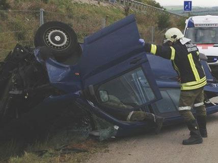 Am Mittwoch ereignete sich auf der S3 in Hollabrunn ein schwerer Verkehrsunfall.