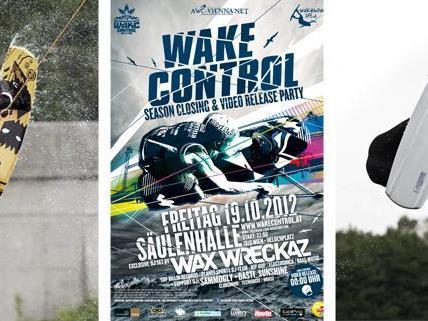 Die Crew des Wake Control Vienna laden zur exklusiven Season Closing Party in die Säulenhalle