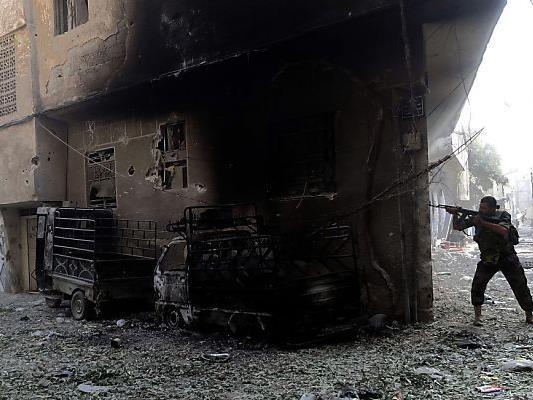 In Syrien wird noch immer gekämpft
