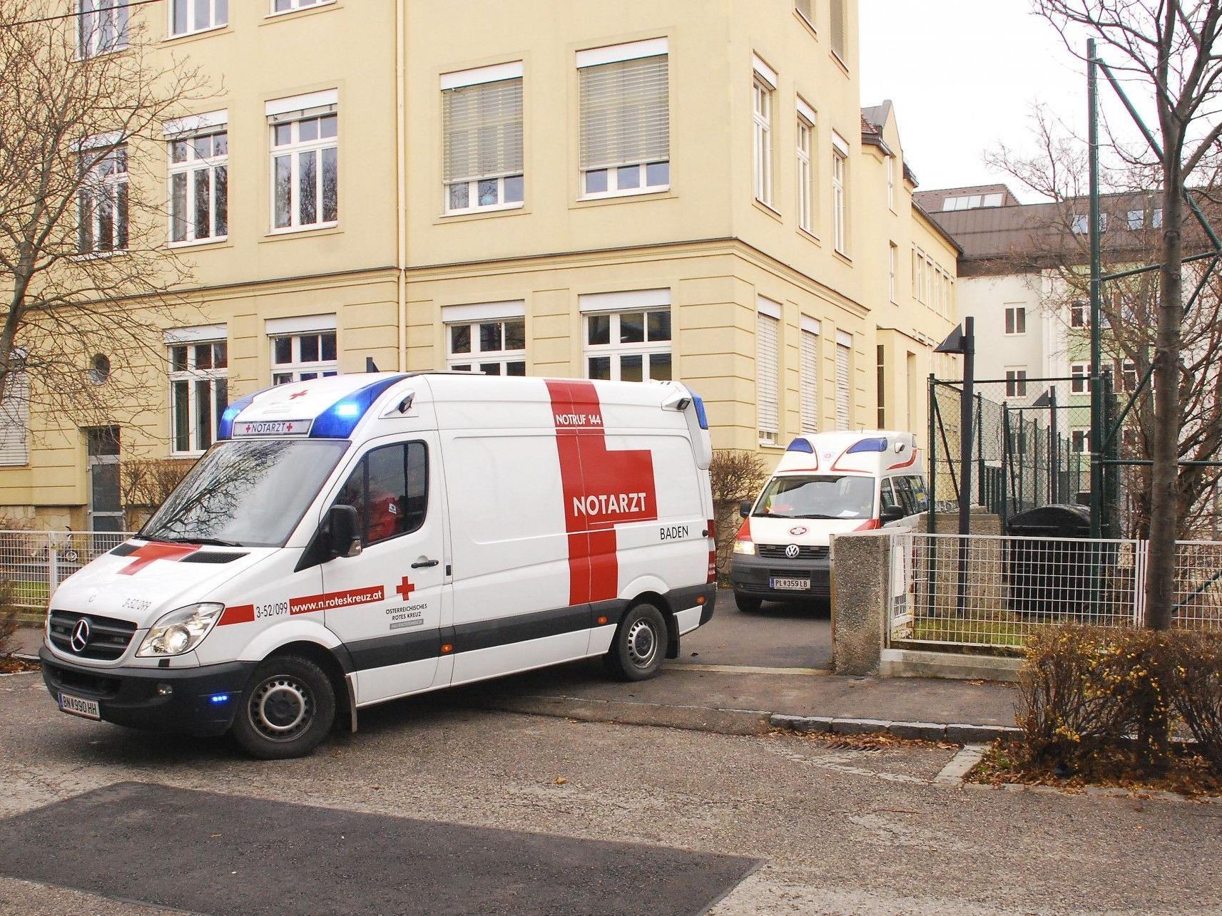 Der Schüler erlag im Landesklinikum Baden seinen Verletzungen.