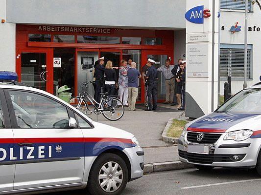 Eine AMS-Filiale in Ottakring musste wegen einer Bombendrohung evakuiert werden