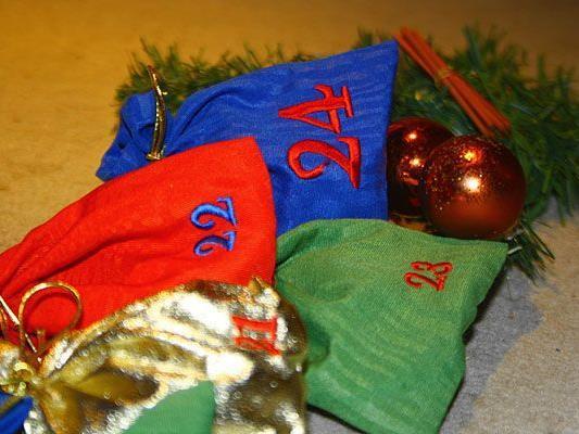Ein selbstbefüllter Adventkalender macht dem Beschenkten viel Freude