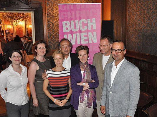 Das Team hinter der Buch Wien 2012