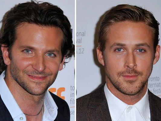 """Ist Ryan Gosling nicht doch sexier als Bradley Cooper? Die beiden bei der Premiere von """"The Place beyond the Pines"""" in Toronto"""