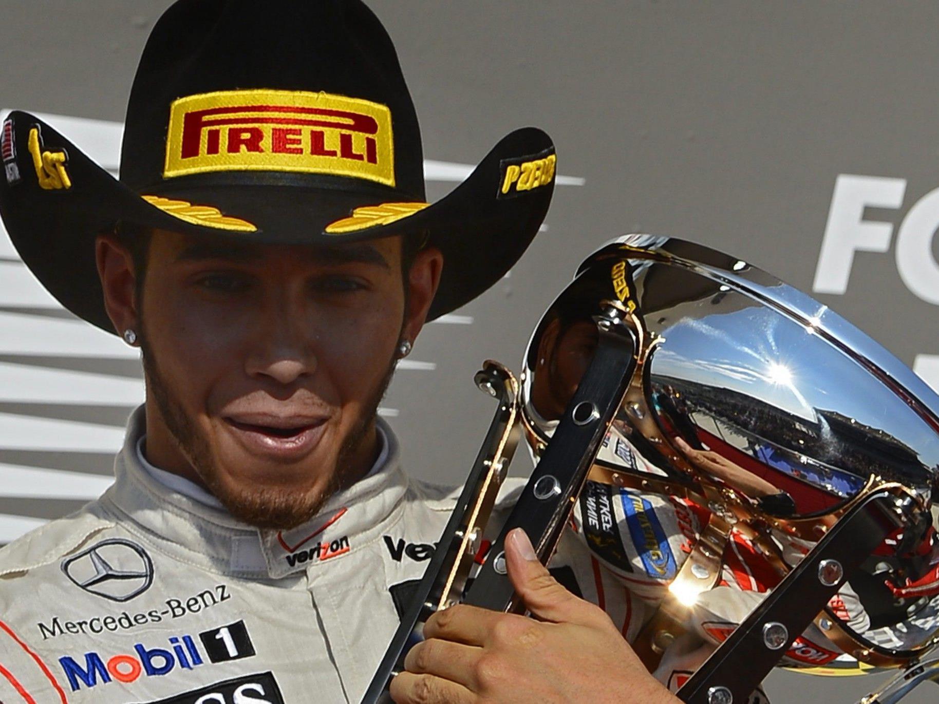 Lewis Hamilton fuhr von Startplatz zwei in Austin zum Sieg.