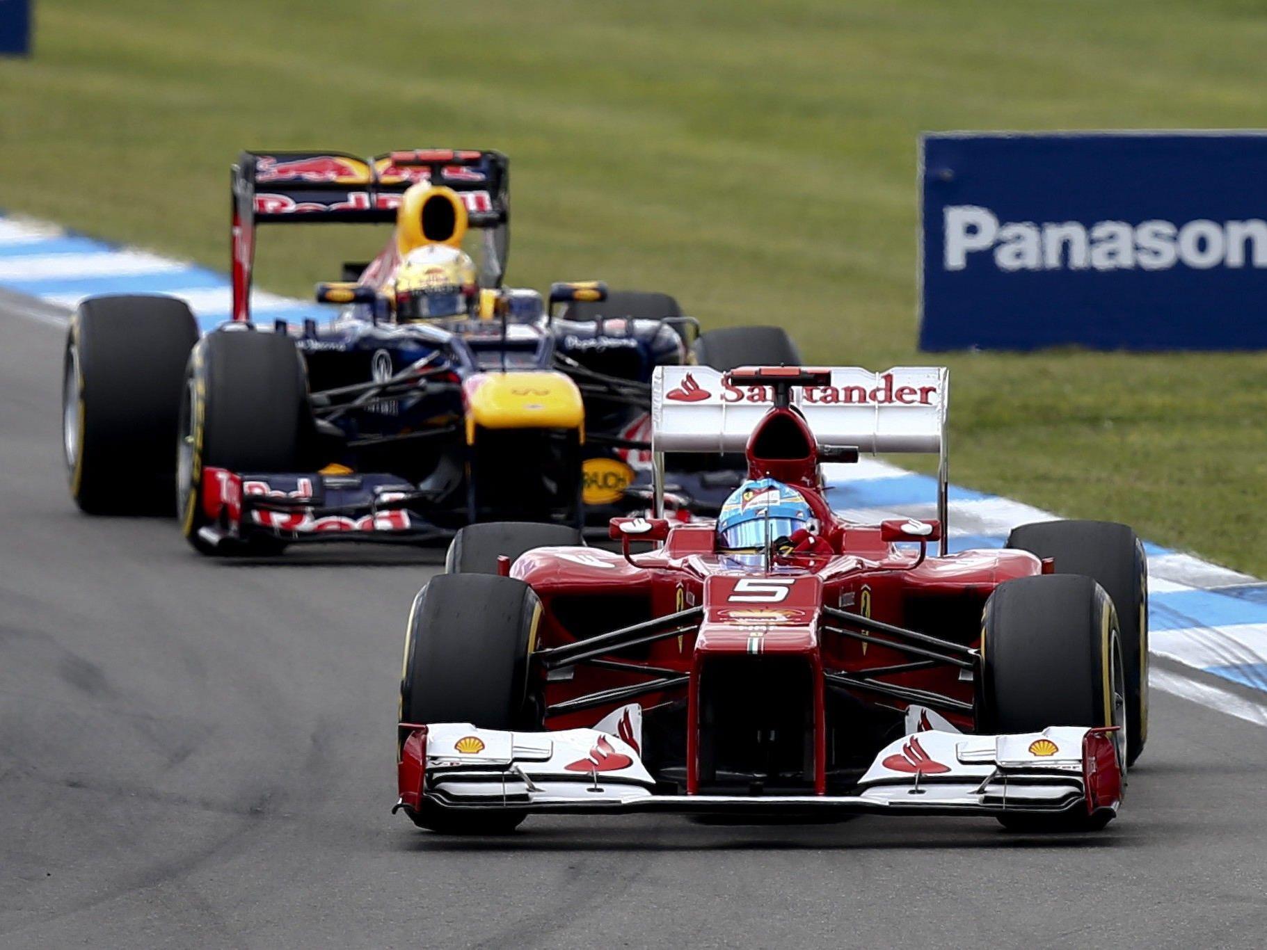 Showdown in Interlagos. Man darf gespannt sein ob sich Vettel und Alonso auf der Strecke begegnen.