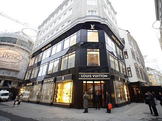Der neue Flagshipstore von Louis Vuitton in Wien steht kurz vor der Eröffnung
