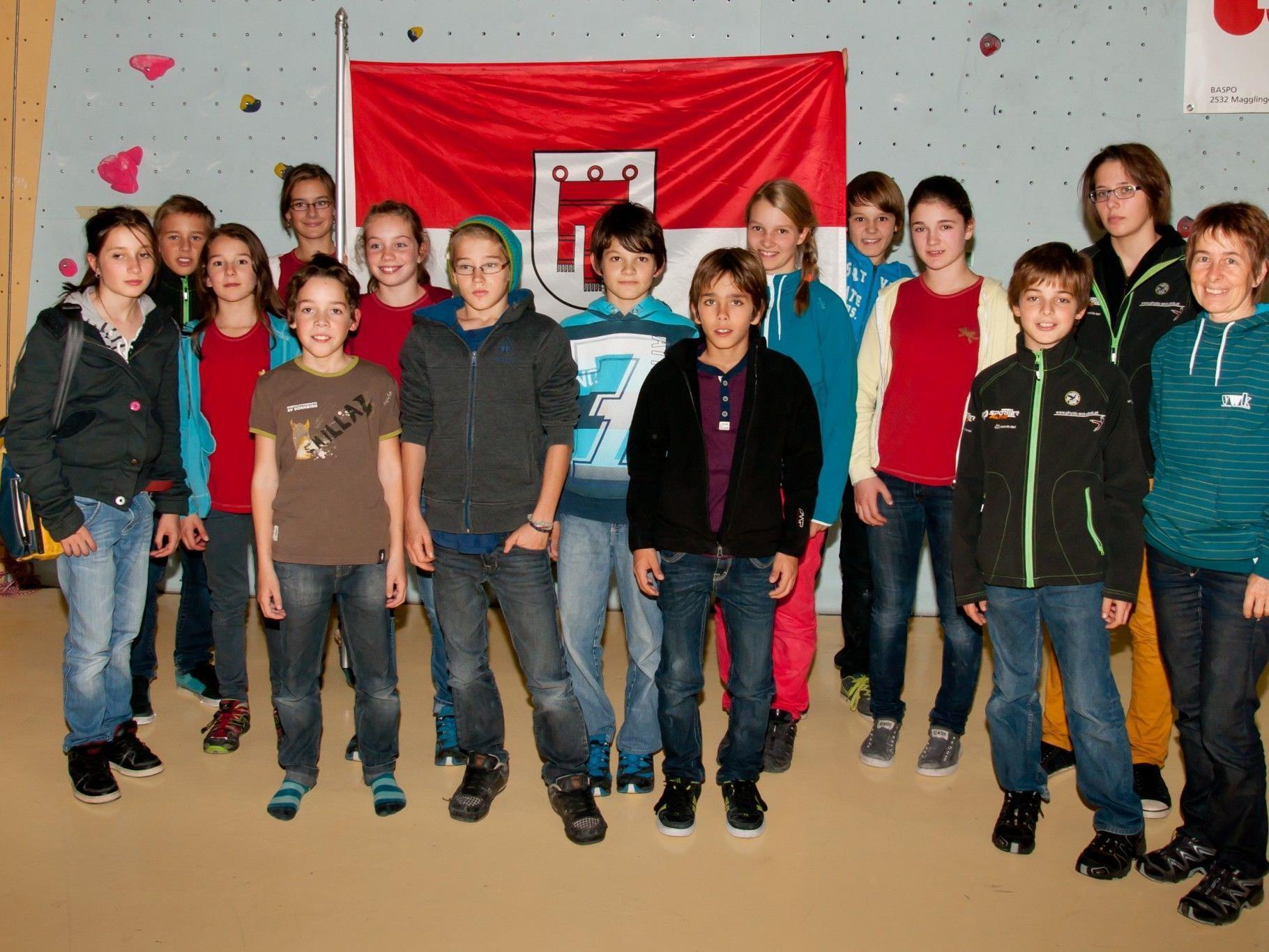 Vorarlbergs Nachwuchs-Kletterer zeigten beim Arge-Alp-Turnier gute Leistungen.