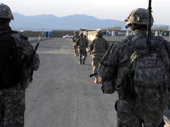 Die US-Army erlaubt nicht den Einsatz von Frauen an der Front.