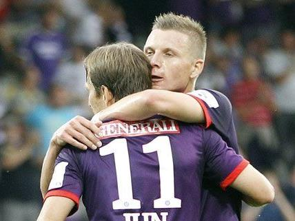 LIVE: Austria Wien gegen SV Ried im Ticker