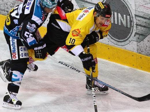 Die Capitals mussten am Freitag eine Niederlage gegen Linz einstecken.