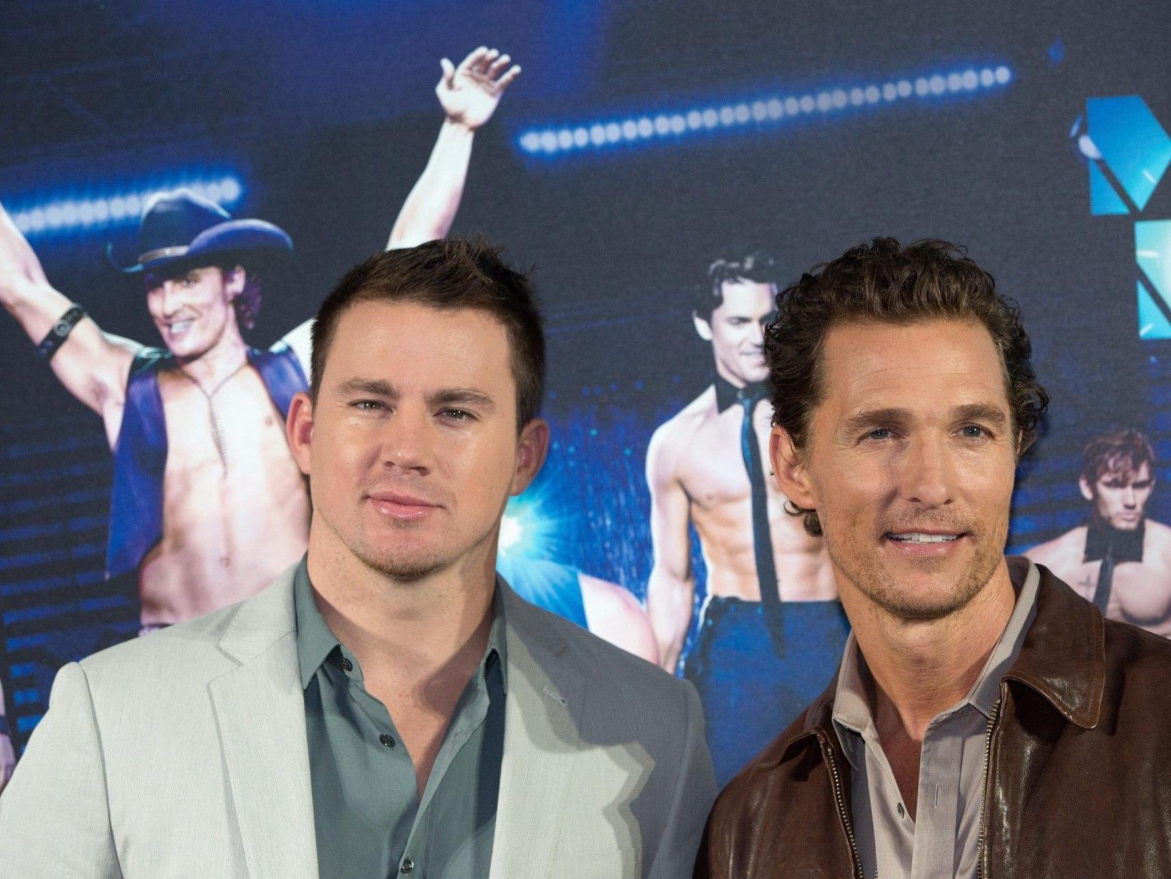 """""""Sexiest Man Alive"""" Channing Tatum (l.) mit Matthew McConaughey."""