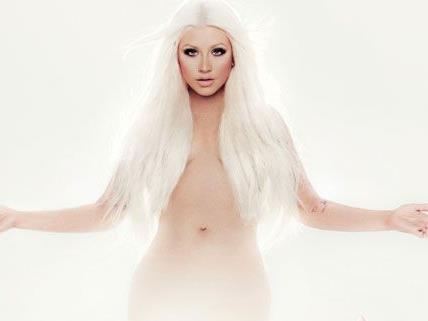 Christina Aguilera präsentiert ihr neues Album.