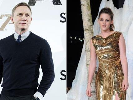 Kristen Stewart als Bond-Girl? Nicht, wenn es nach Daniel Craig geht.