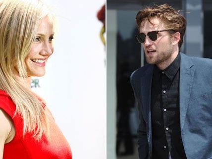Cameron Diaz versuchte scheinbar bei Robert Pattinson zu landen.