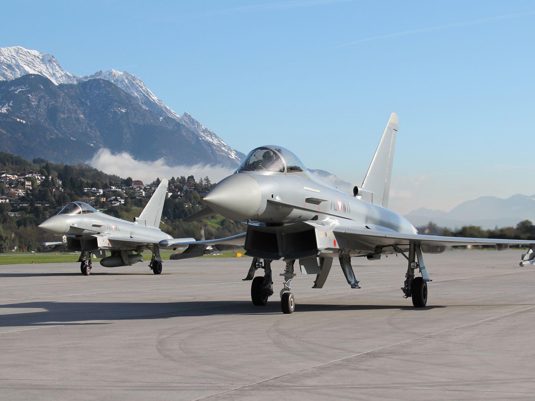 Der Kauf der Eurofighter kostete Österreich 1,5 Milliarden Euro.