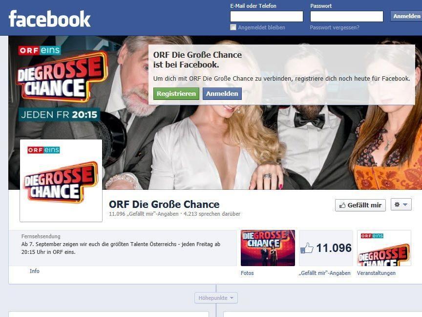 Werden ORF-Facebook-Seiten gelöscht?