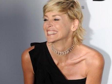 """Sharon Stone hat einen Stern auf dem """"Walk of Fame""""."""