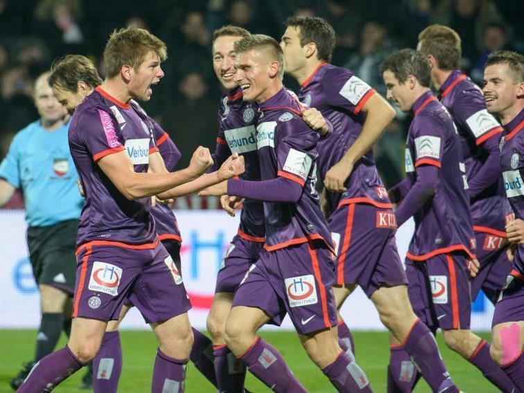 Erneut ein Erfolg für Austria Wien, diesmal gegen Neustadt.