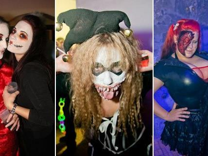 Das waren die gruseligsten und blutigsten Halloween-Kostüme 2012.