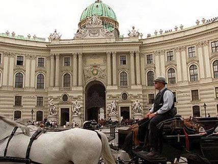 Die Redoutensäle wurden bei dem Brand in der Wiener Hofburg vor 20 Jahren zerstört.