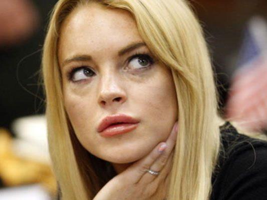Lindsay Lohan kann es scheinbar nicht lassen.