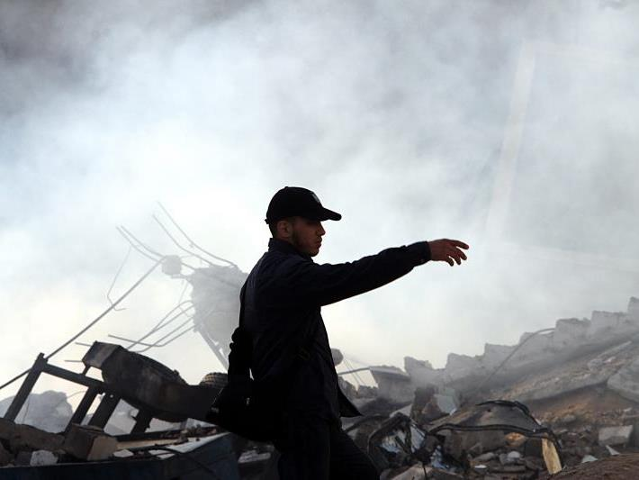 Hamas feuerte wieder Raketen ab
