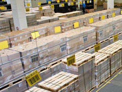33 Paletten mit Sanitärmaterial wurden in Niederösterreich gestohlen.
