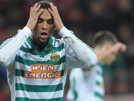 Rapid Wien möchte heute gegen Mattersburg punkten.