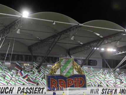 Die Rapid Fans hoffen weiter auf ein neues Stadion