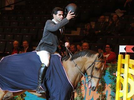 Carlos Eduardo Motta Ribas holte auf Ronaldo den ersten Sieg beim Pferdefest.