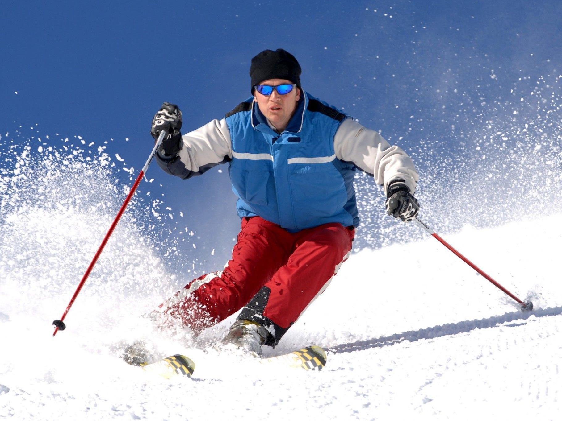 Viele Skisportler fühlten sich trotz erhöhtem Risiko noch sicher.