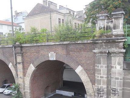 Auf dem Ast des Wiener Stadtbahnviadukts bei Heiligenstadt könnte nach New Yorker Vorbild ein Park entstehen.