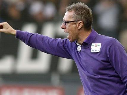 """Peter Stöger bezeichnet sich selbst als """"glücklicher Trainer""""."""