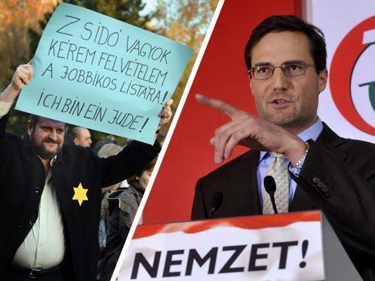 Marton Gyöngyösi verlangt eine Liste aller Juden im Parlament und der Regierung.