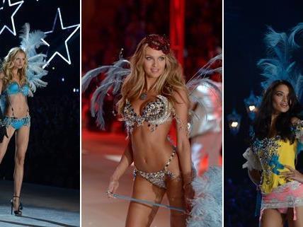 In New York fand am Mittwoch die Victoria's Secret Fashion Show 2012 statt.