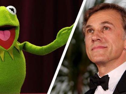Spielen Kermit und Christoph Waltz bald Seite an Seite?