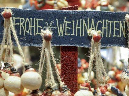 Kunsthandwerk am Weihnachtsmarkt am Spittelberg.