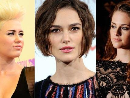 Ausfegallen, retro oder elegant: Die Frisurentrends sind vielfältig
