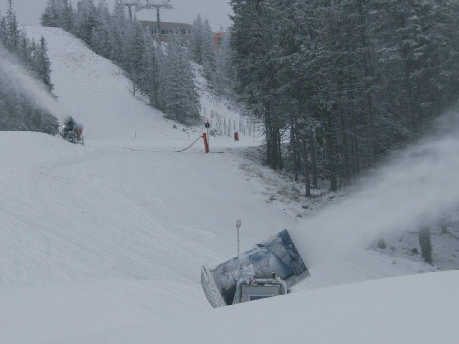 Die Vorbereitungen für das Ski-Opening am Stuhleck laufen auf Hochtouren.