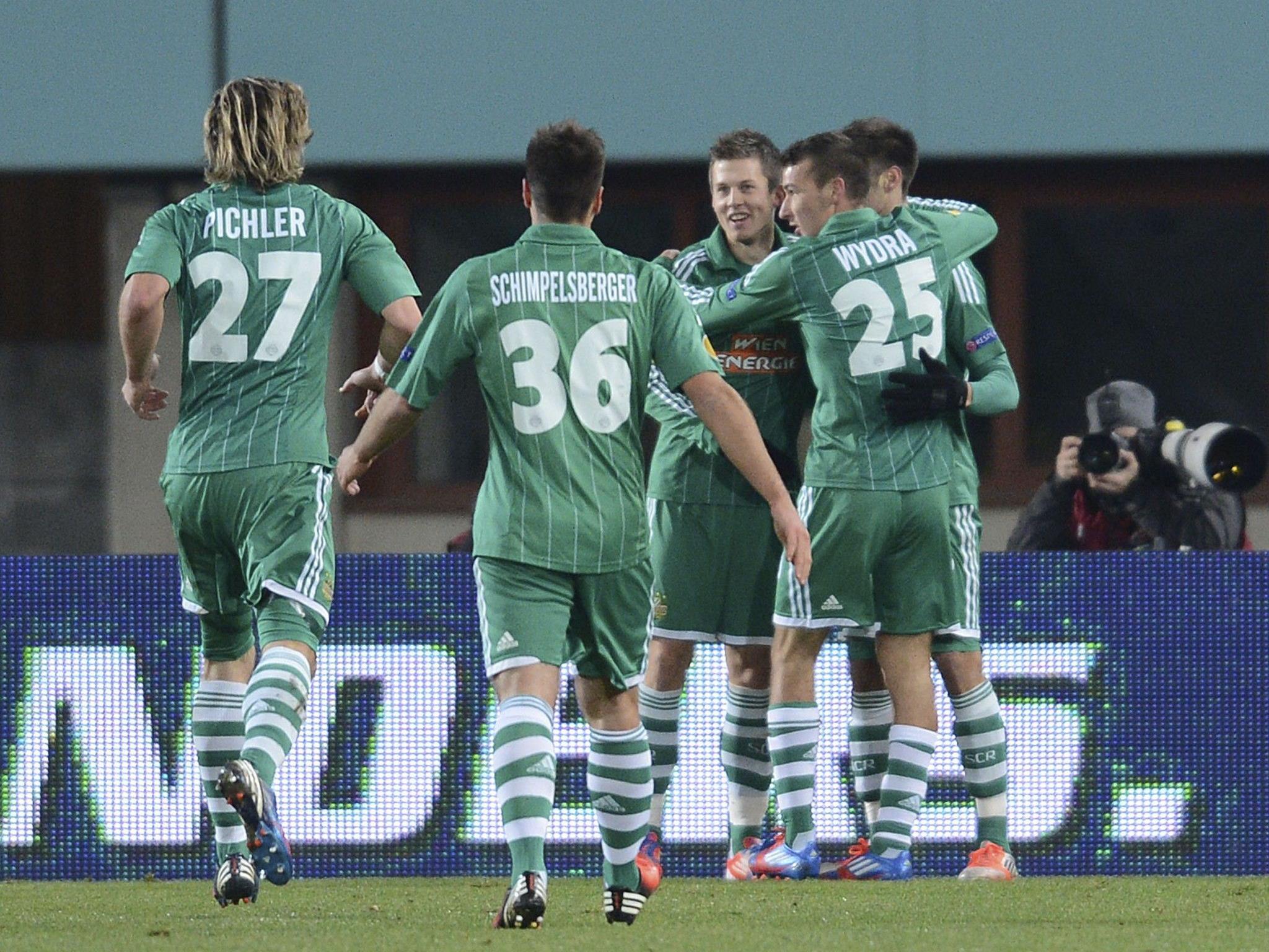 Fußball: Alar schoss Rapid zu 1:0 gegen Charkiw und ersten EL-Punkten