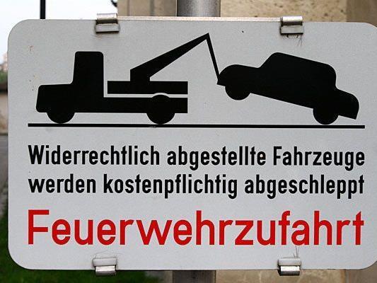 Viele, die am ersten Adventwochenende in Wien unterwegs waren, wurden wegen Falschparken abgeschleppt