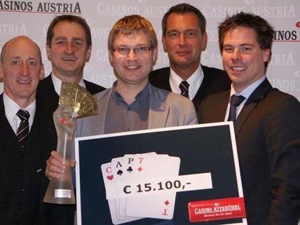 Erfolgreicher Poker-Auftakt in Kitzbühel.