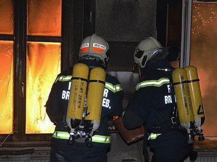 Wohnung in Brunn am Gebirge fing Feuer