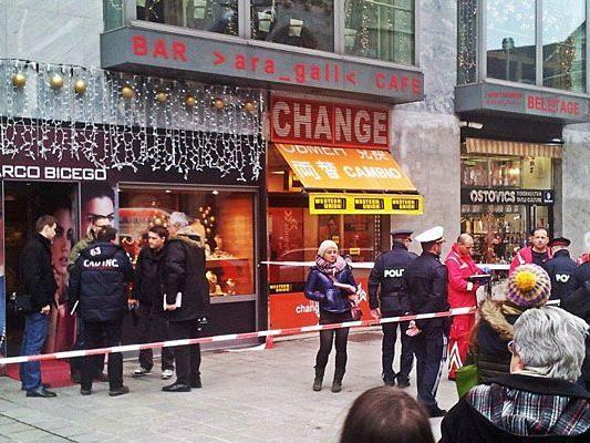 Dieser Juwelier am Stephansplatz wurde überfallen