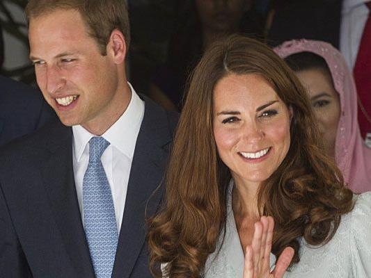Kate und William freuen sich auf das Baby